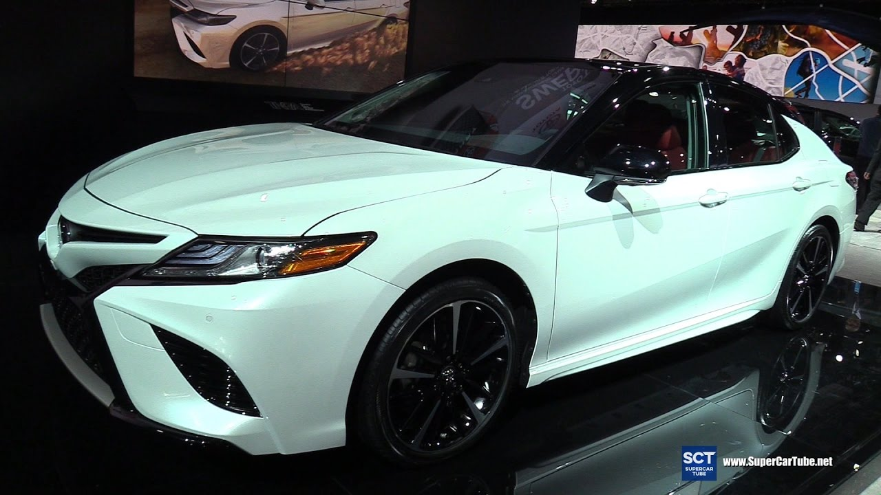 2018 Toyota Camry Xse Exterior And Interior Walkaround Debut At