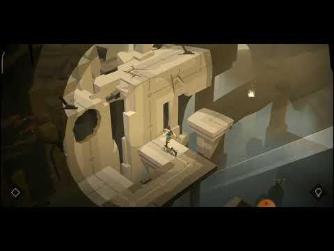Lara croft GO level  the entrance  