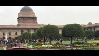 Mughal Garden open for Public Visitors interacts with Ten News 1,000 tulips and 70 types of flowers