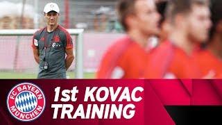 1st FC Bayern Training on the Pitch w/ Niko Kovac