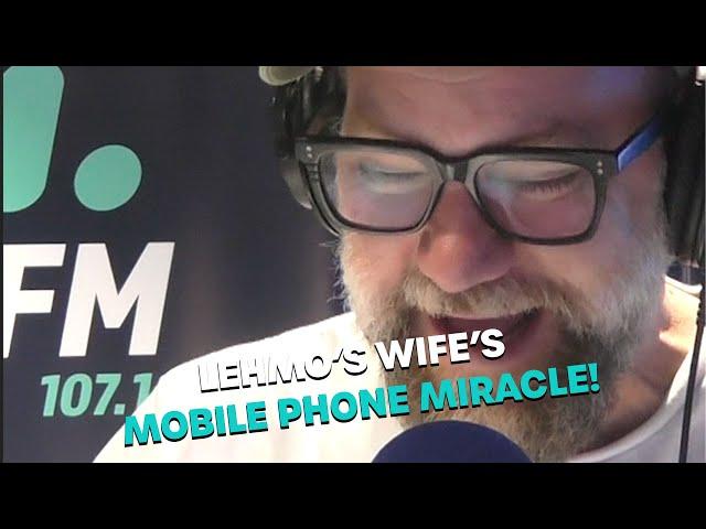 Lehmo's Wife's Phone Miracle | Bec Cosi and Lehmo