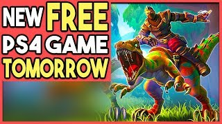 NEW FREE PS4 Game TOMORROW - PC Game Comes to PS4!