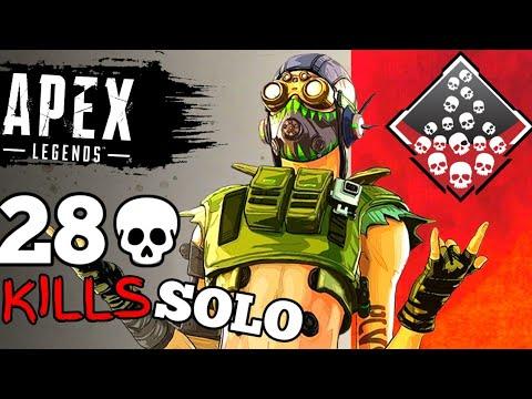 OCTANE WORLD RECORD SOLO KILLS - Apex Legends