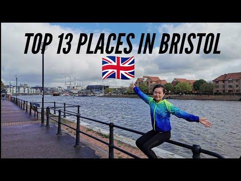 TOP 13 PLACES IN BRISTOL 🇬🇧  UNITED KINGDOM