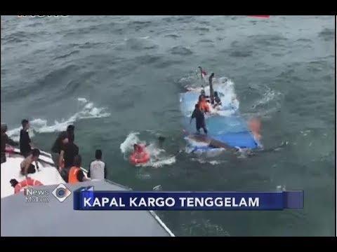 Detik-detik Penyelamatan ABK Kapal Kargo yang Tenggelam di Perairan Kepri - iNews Malam 24/06