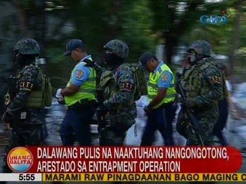 UB: 2 pulis na naaktuhang nangongotong, arestado sa entrapment operation sa QC