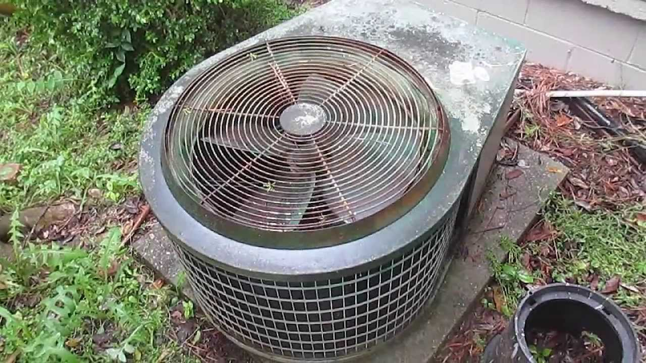 Very Old Unknown Air Conditioner At A Synagogue Youtube