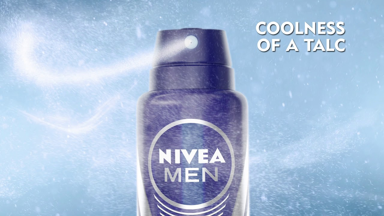 Coolness Of A Talc Now In Deodorant Nivea Men Cool Powder Youtube