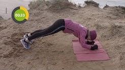 Zehn Minuten Workout für alle Körperpartien - Ganzkörpertraining mit Eigengewicht für zu Hause