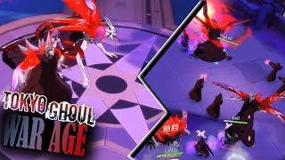 SSS ETO KAKUJA GAMEPLAY! DESTRUCTION DESCENDS! | Tokyo Ghoul War Age / 东京战纪- Android