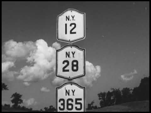 The Thruway and Utica-Rome Tomorrow!, 1951