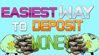 GTA 5 Online - How To Deposit Money! ATM Locations NOT Needed (GTA V Online Gameplay)