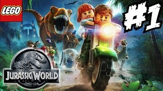 Lego Jurassic World Walkthrough Part 1 Gameplay Let s Play Guide Playthrough 1080p HD review
