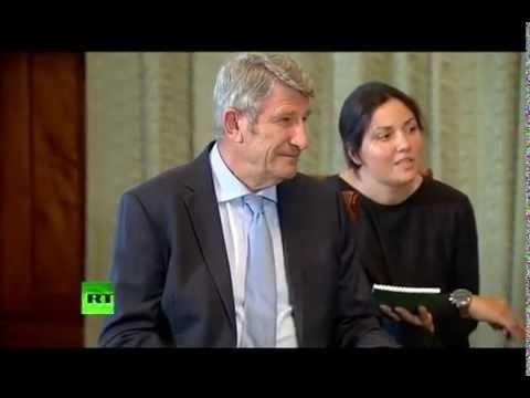 Rencontre entre le Président Vladimir Poutine et Philippe de Villiers
