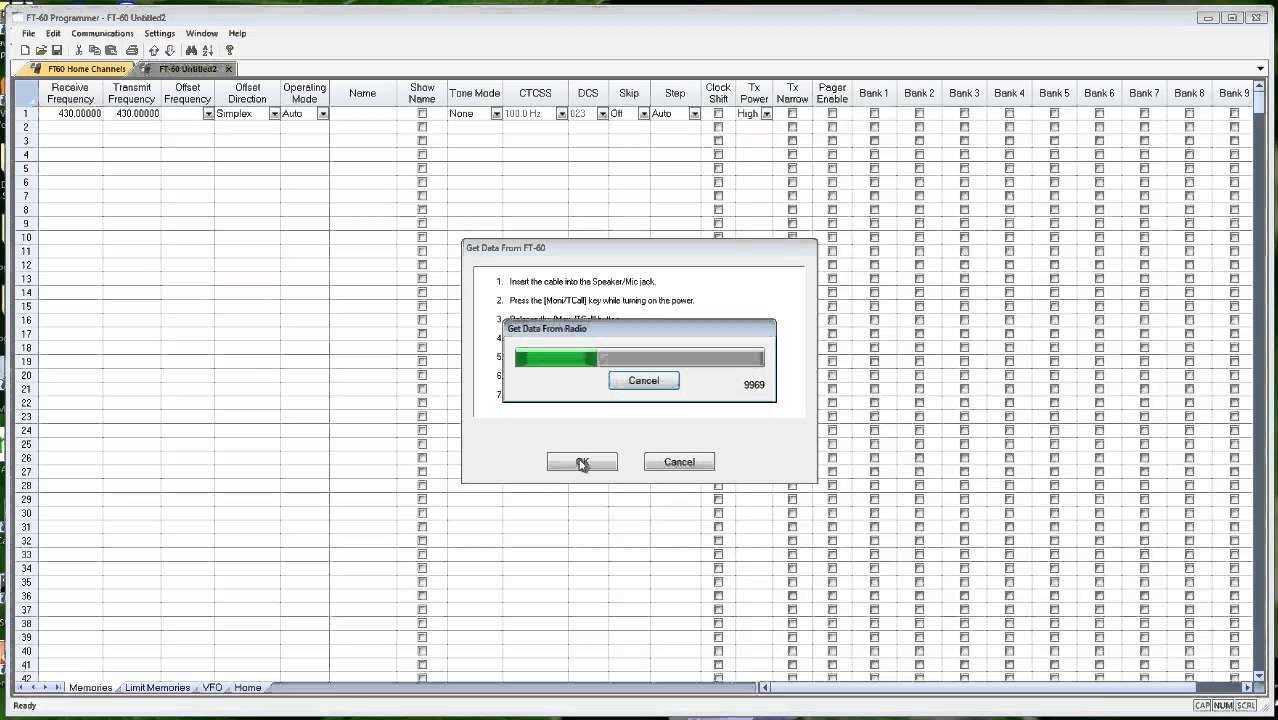 RT Systems Radio Programmer - Error sending file to the radio