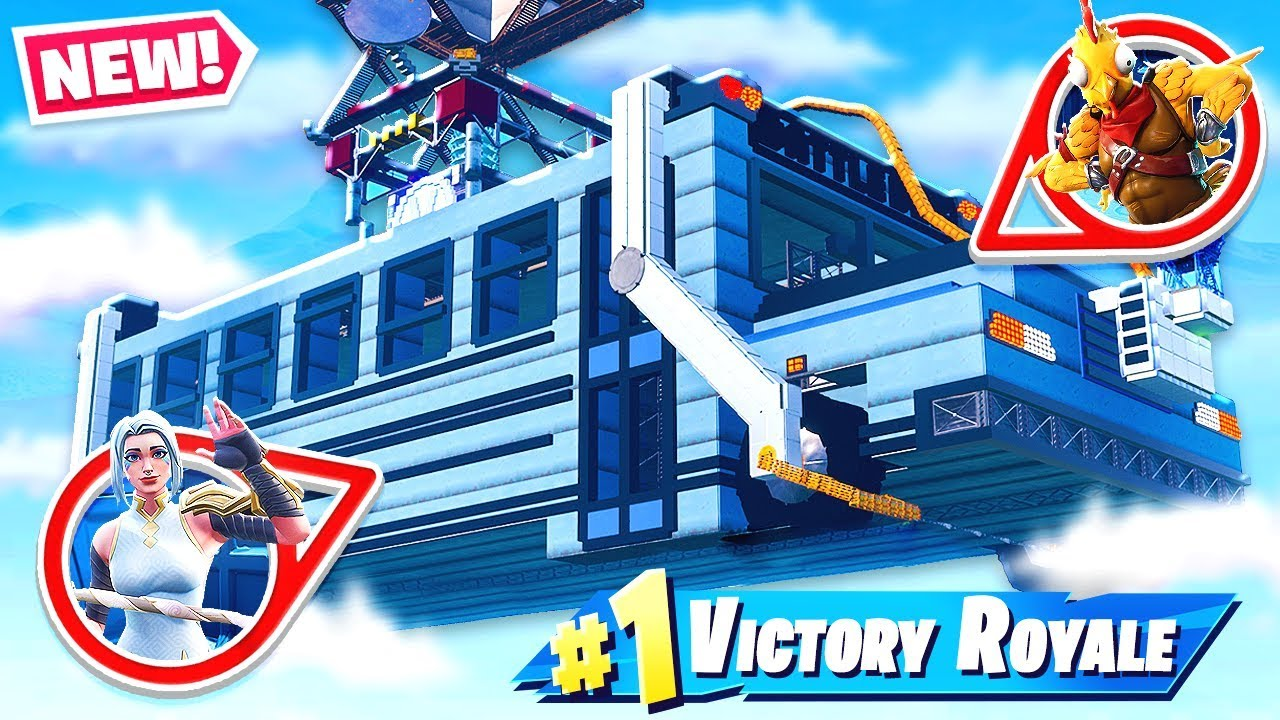 Battle Bus Hide And Seek New Creative Game Mode In Fortnite Battle Royale