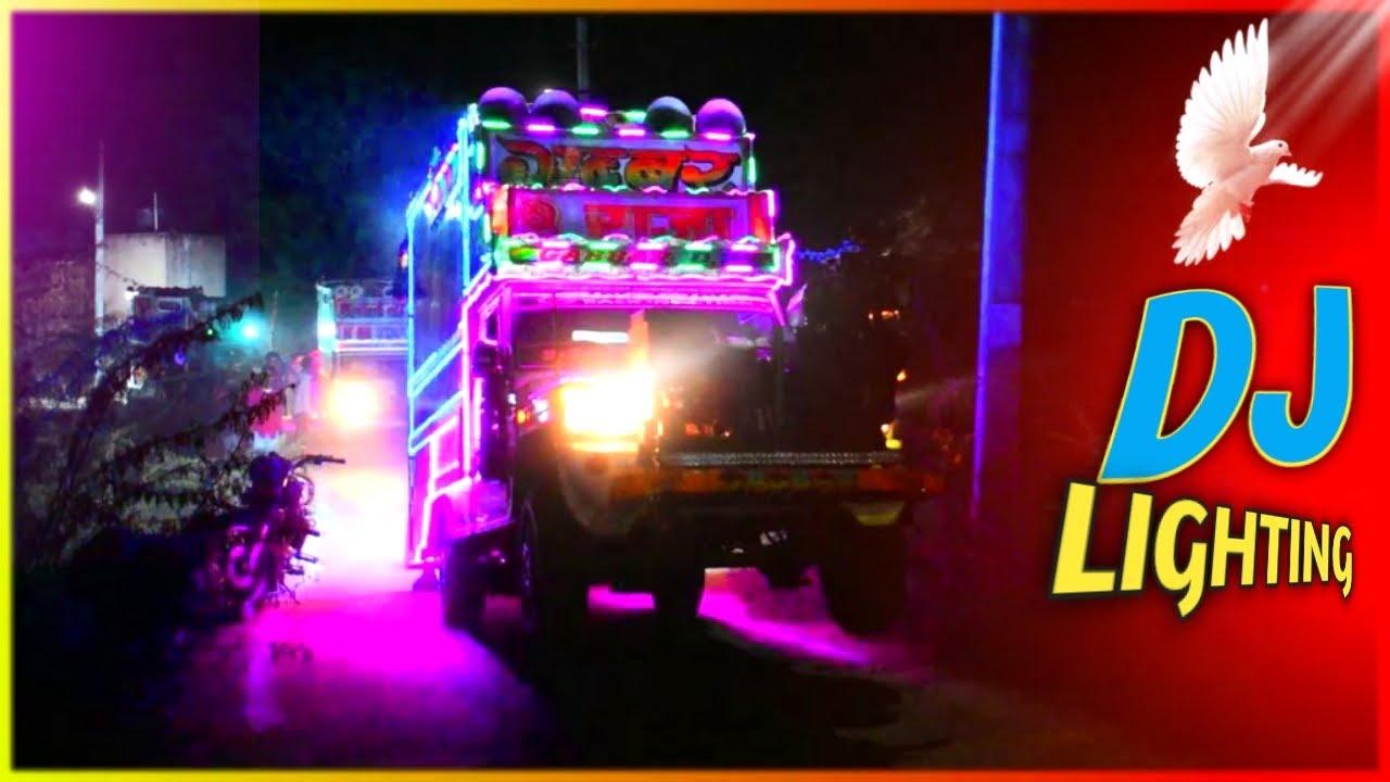 रात में चमचमाते अजमेर के डीजे - Gabbar dj gudli ! ms dj gudli ! Dj Lighting ! LoveSong Remix Dj Song