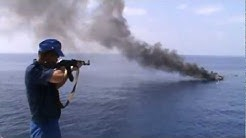 Russian Navy vs Somalia pirates