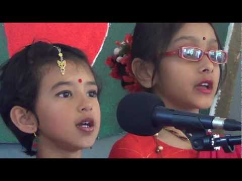 Dhono Dhanne Pushpe Bhora