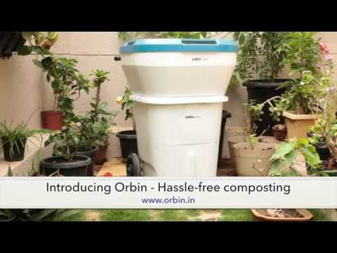 Orbin - Composting Kitchen Waste at home...now made easy !