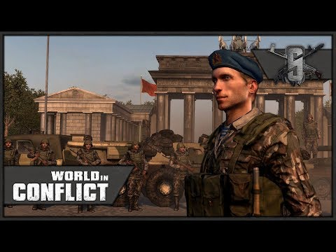 THROUGH THE BERLIN WALL COMRADES! - World in Conflict - Mission 1 (Soviet)