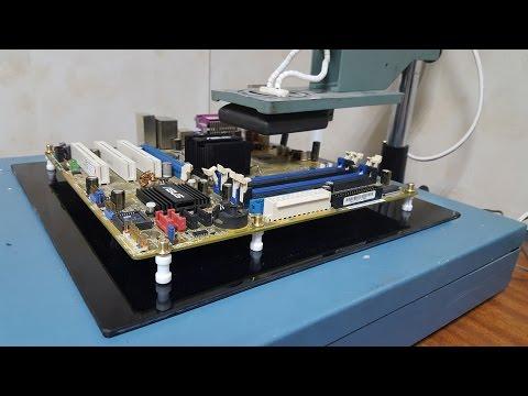 ИК паяльная станция своими руками - Часть 2(Доработка нижнего подогрева)