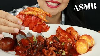 2X SPICY SEAFOOD BOIL ~ ASMR ( No Talking ) Eat Life With Kimchi