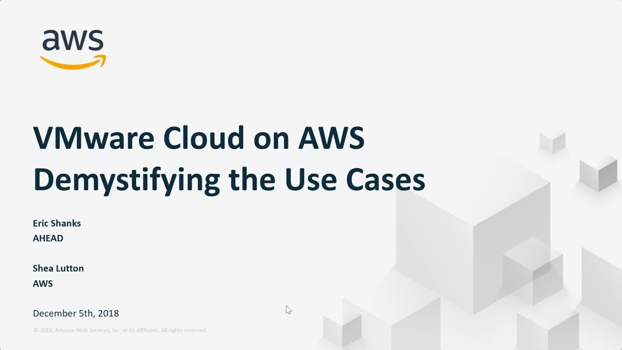 Straight Talk: When is VMware Cloud on AWS Right for You?