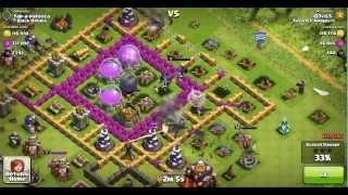 Clash of Clans: 803K Resources Raid TH10! Giants and Healer Strategy!!