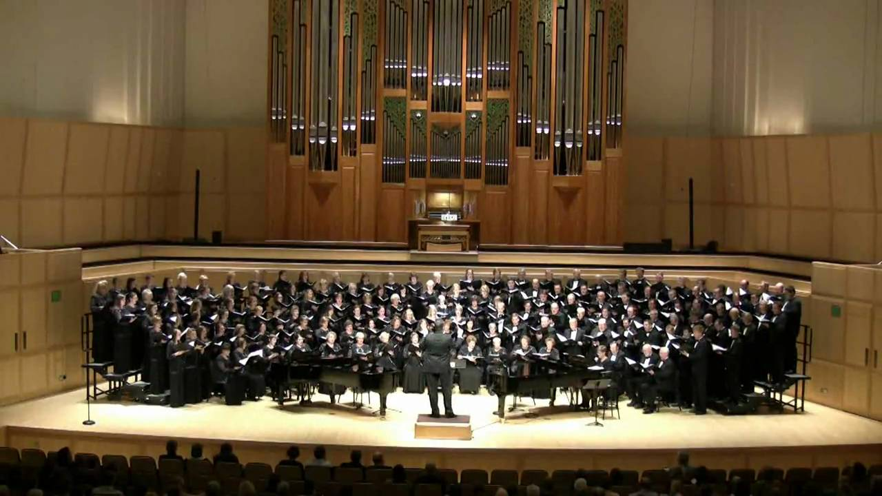 Ching-A-Ring Chaw - Salt Lake Choral Artists Concert Choir