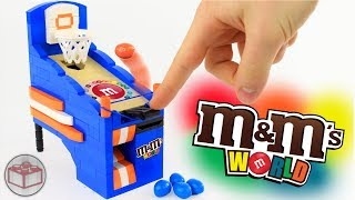 How To Build LEGO M&M's Basketball Arcade Game
