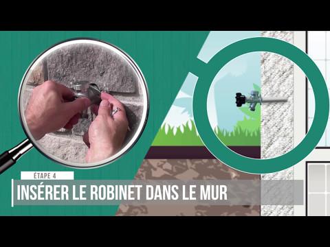 Comment Installer Un Robinet Extérieur à Purge Automatique Merrill