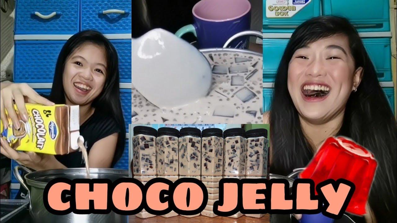 CHOCO JELLY DRINK (EASY & YUMMY RECIPE) | JESSICA VLOGS #7