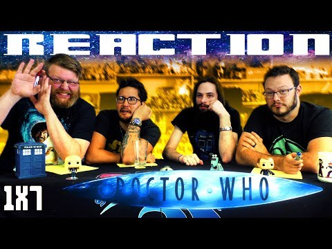 "Doctor Who 1x7 REACTION!! ""The Long Game"""