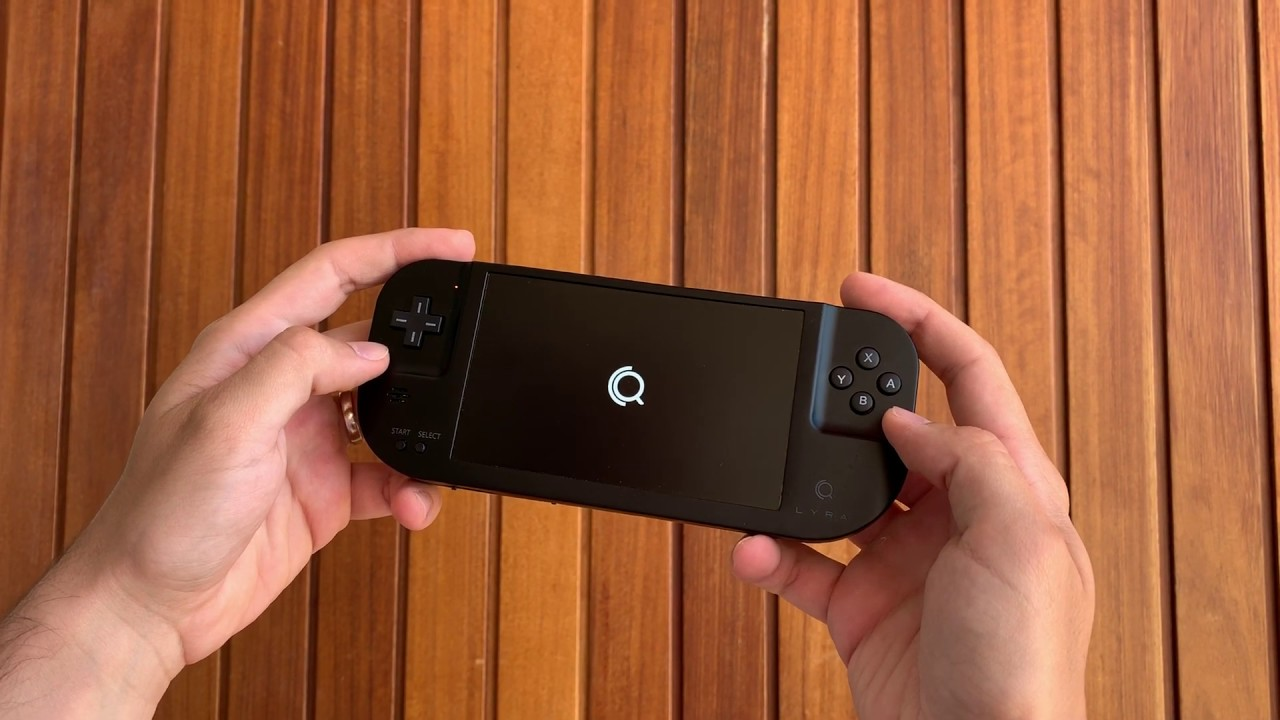 Lyra Is a Handheld Gaming System Powered by a Raspberry Pi
