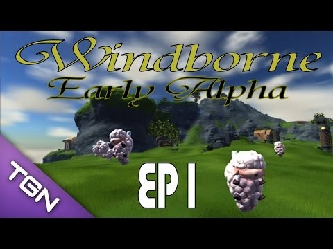 "Windborne: Early Alpha w/ Kage848 ""Building, Crafting, Voxel"" (1080p YT-13) Episode 1"