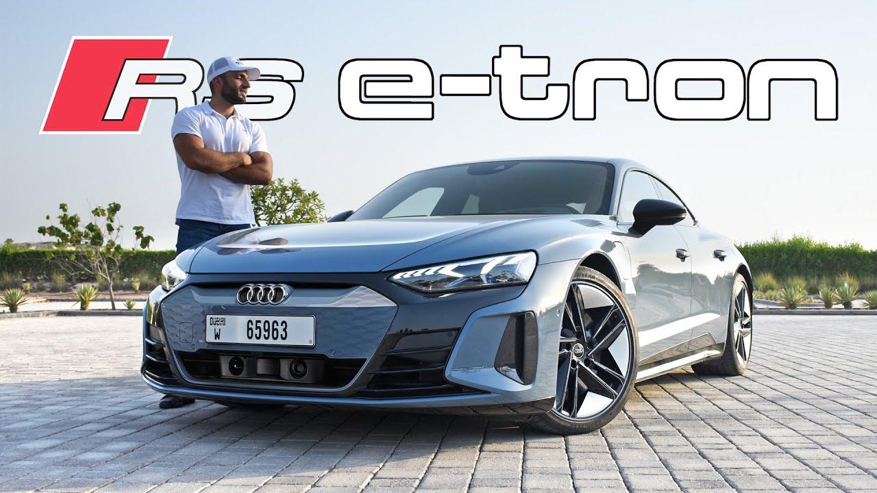 أقوى وأسرع أودي في التاريخ! Audi RS E-Tron GT
