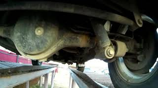 Устройство подвески Suzuki Jimny.
