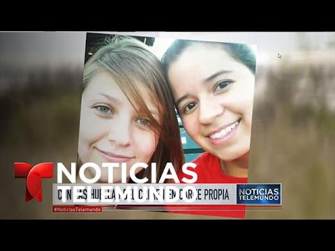 Las preguntas sobre el horrendo asalto a dos jóvenes en Texas   Noticiero   Noticias Telemundo