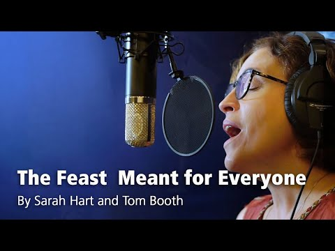 The Feast Meant for Everyone – Sarah Hart & Tom Booth, featuring PJ Anderson [Official Lyric Video]