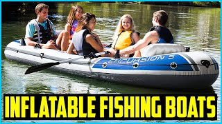Top 5 Best Inflatable Fishing Boats in 2020 – Buying Guides