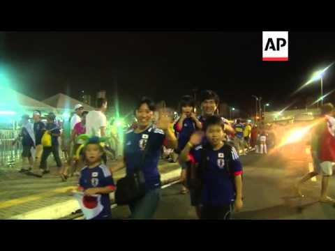 Fans react to goalless draw between Japan and Greece