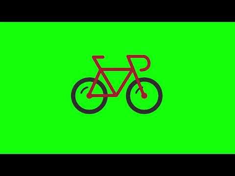 Футаж на хромакее: Bicycle Sports/спортивный велосипед