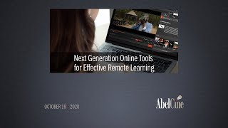 Next Generation Online Tools for Effective Remote Learning