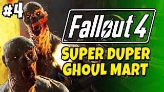 "Fallout 4 - Super Duper Ghoul Mart - Minigun Massacre #5 ""Spoiler Free""."