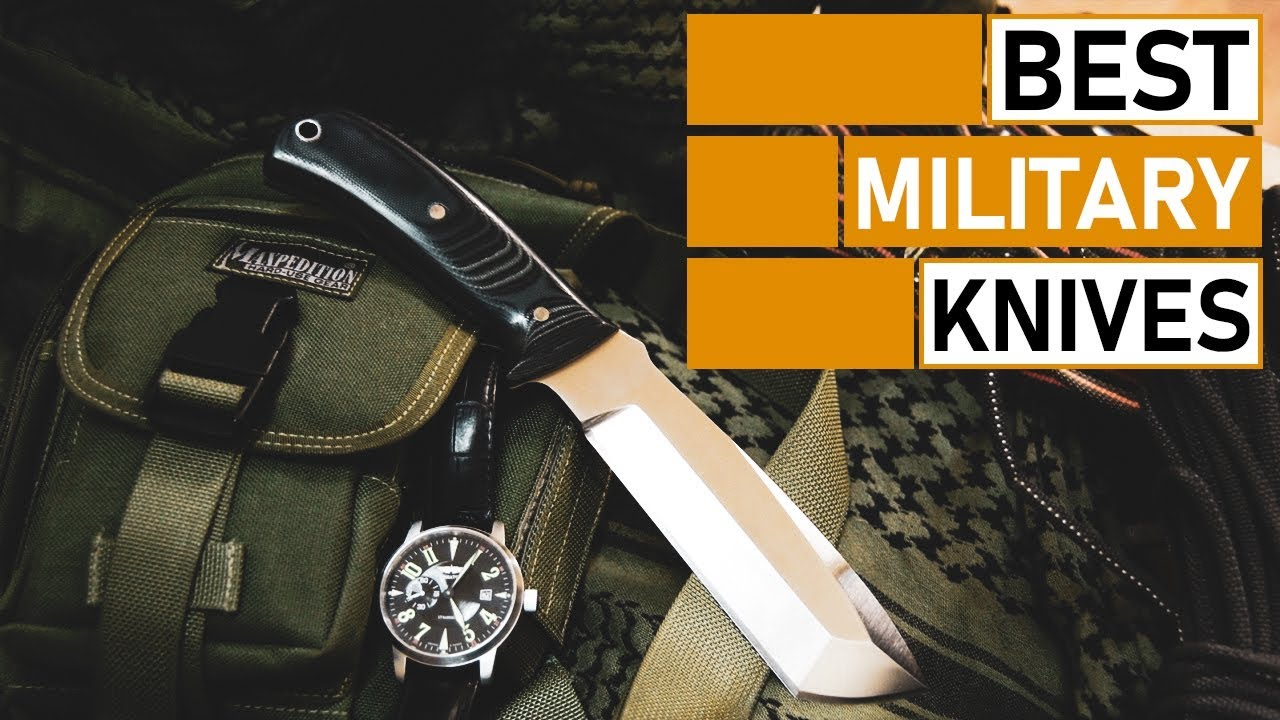 5 Best Military Knives for Outdoor Survival