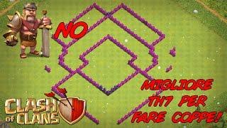 Clash Of Clans - IL MIGLIORE HYBRID TH7 PER SALIRE DI COPPE VELOCEMENTE! 600+ COPPE!