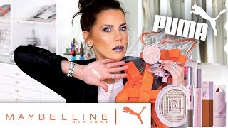 PUMA and Maybelline had an Athletic Makeup Baby ... Here we Go!!! xo's ~ Tati  😇 HALO Before & After PHOTOS HERE » » » https://halobeauty.com/pages/halo-glow    ✔  P R O D U C T S  M E N T I O N E D Puma X Maybelline: Color + Gloss Face Duo Stick Chrome Highlight // 08 Knockout Matte + Metallic Eye Duo Stick // 02 Discipline + Pulse  Matte + Metallic Eye Duo Stick // 03 Warrior + Flow Matte + Metallic Eye Duo Stick // 04 Goals + Courage  Matte + Metallic Eye Duo Stick // 05 Heat + Flash  Smudge-Resistant Mascara // 14 Very Black  Superstay Matte Ink Liquid Lipstick // 09 Unapologetic Superstay Matte Ink Liquid Lipstick // 10 Epic Superstay Matte Ink Liquid Lipstick // 11 Fearless Superstay Matte Ink Liquid Lipstick // 12 Unstoppable  Superstay Matte Ink Liquid Lipstick // 13 Fierce    ✔ M A K E U P  W O R N FACE: Cover FX Gripping Primer Tarte Timeless Smoothing Primer  L'Oreal Infallible 24H Fresh Wear Foundation // 425 Elf 16HR Camo Concealer // Medium Beige Elf 16HR Camo Concealer // Medium Sand  Huda Beauty Loose Baking & Setting Powder // Pound Cake Elf 16HR Camo Concealer // Deep Cinnamon  Mac Studio Fix Sculpt & Shape Contour Palette // Light/Medium Westman Atelier Beauty Butter Powder Bronzer // Coup De Soleil Jouer Six Shade Blush Palette  Puma x Maybelline Chrome Highlight // 08 Knockout  Mac Fix +  EYES: Mac Pro Longwear Paint Pot // Painterly  Nars Eye Palette // Skin Deep Puma X Maybelline: Matte + Metallic Eye Duo Stick // 04 Goals + Courage  Matte + Metallic Eye Duo Stick // 05 Heat + Flash  Smudge-Resistant Mascara // 14 Very Black   BROWS: Urban Decay Brow Blade // Brunette Baby Benefit Brow Contour Pro // Brown Light  Kat Von D Super Brow Long-Wear Pomade // Medium Brown  Anastasia Dipbrow Pomade // Dark Brown    LIPS: Puma X Maybelline: Superstay Matte Ink Liquid Lipstick // 09 Unapologetic Superstay Matte Ink Liquid Lipstick // 13 Fierce  NAILS: H&M Nail Polish // Governess     ✔ S N A P C H A T https://www.snapchat.com/add/TatiWestbrook  ✔ I N S