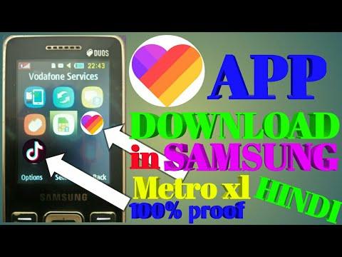 Samsung Metro XL Apps - cinemapichollu