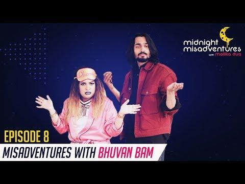 Bhuvan Bam's tips to become #1 Internet Sensation| Midnight Misadventures with Mallika Dua E8